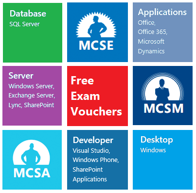 FREE MCP exam vouchers