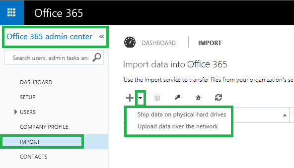 Office 365 Email Archive migration