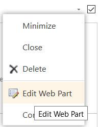 SharedPoint Edit Web part