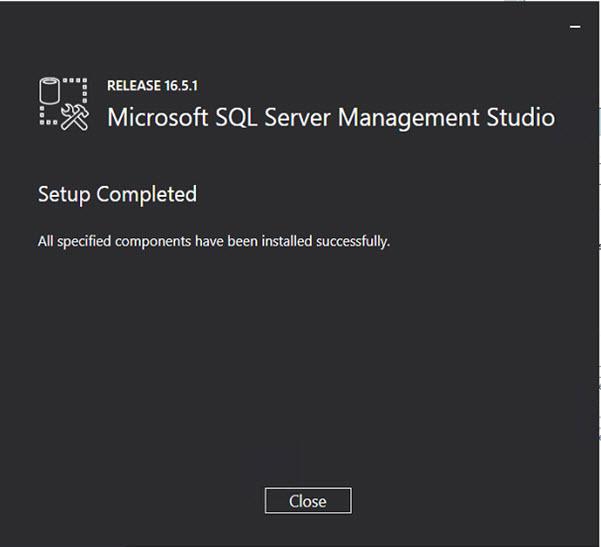 SQL Server 2016 - SSMS Complete