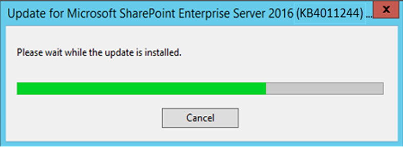 SharePoint 2016 Feature Pack 2 Installation