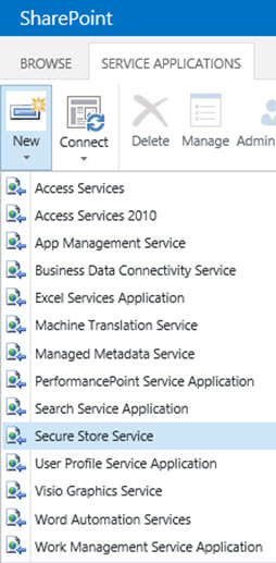 SharePoint 2016 Secure Store Service