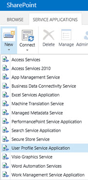 SharePoint 2016 User Profile Service Application - Sharepoint 2016 Service Applications List