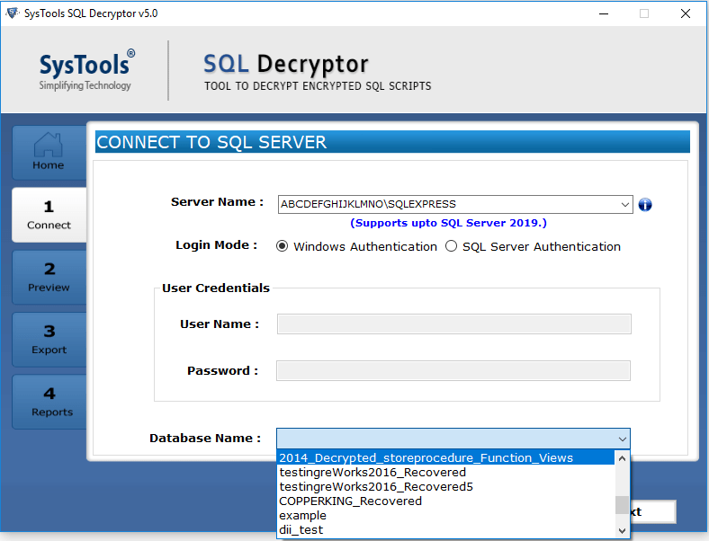 Looking Forward to Decrypting SQL Server Database Objects