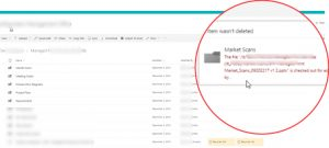 Read more about the article SharePoint folder deletion error: Cannot delete/checked out issue