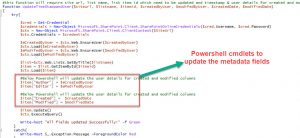 Read more about the article Update Created, Created by, Modified & Modified fields using SharePoint Online Powershell
